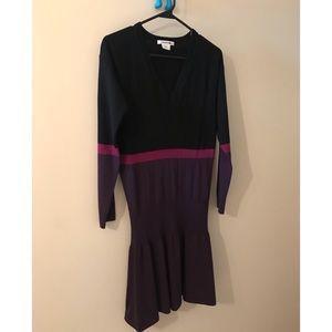 Lacoste short merino wool dress size S (36fr)